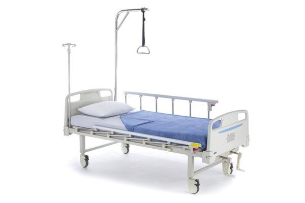 """Кровать медицинская функциональная механическая """"Медицинофф"""",с принадлежностями,вариант исполнения: B-16"""