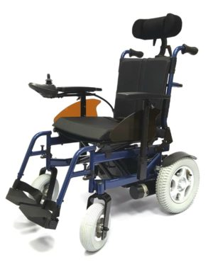 Кресло-коляска инвалидная с электроприводом складная LY-EB103 (Recliner)